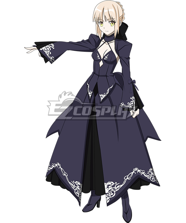 Fate Grand Order Fate Stay Night Saber Alter Cosplay Costume EFN0018