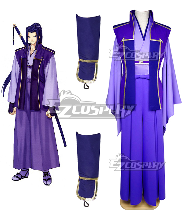 Fate Stay Night Unlimited Blade Works UBW Kojirou Sasaki Assassin New Sword Cosplay Costume - A Edition None