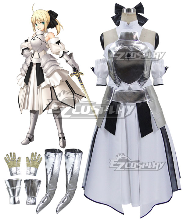 Fate Stay Night Fate Grand Order Saber Lily Altria Pendragon King Arthur Cosplay Costume None