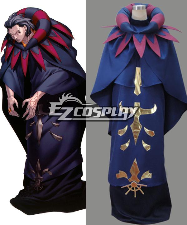 Fate Zero Caster Gilles de Rais Cosplay Costume