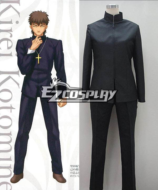 Fate Zero Kirei Kotomine New Cosplay Costume