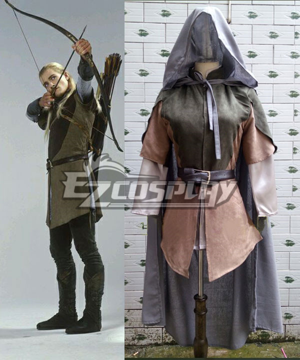 The Hobbit The Lord of the Rings Legolas Cosplay Costume