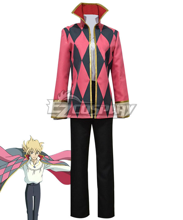 Howl's Moving Castle Howl Cosplay Costume None