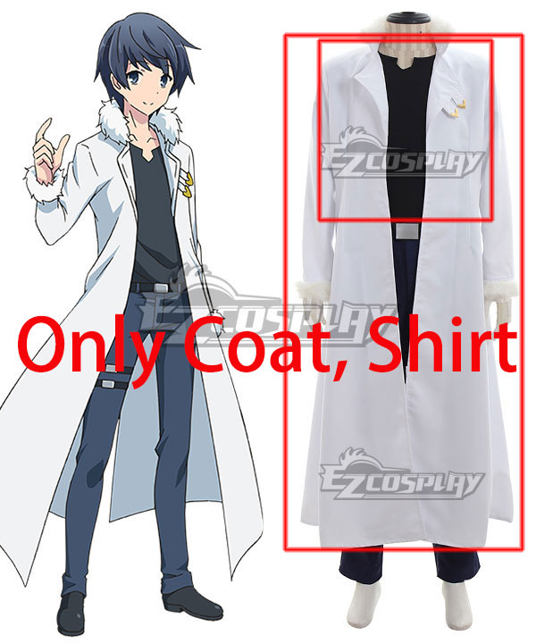 In Another World With My Smartphone Isekai wa Smartphone to Tomo ni. Touya Mochizuki Cosplay Costume - Only Coat, Shirt EIAW001-1