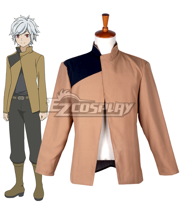 DanMachi Is It Wrong to Try to Pick Up Girls in a Dungeon? Bell Cranel Cosplay Costume (only Coat)