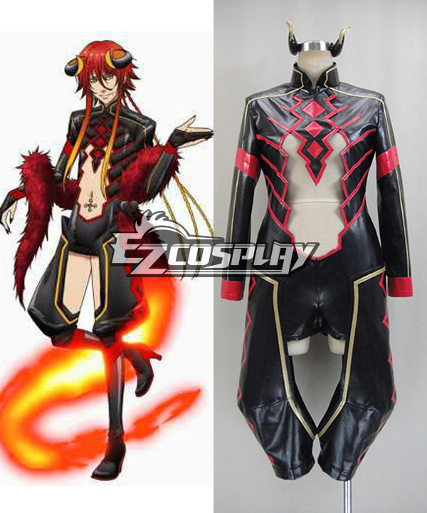 Kamigami no Asobi: Ludere deorum Loki Laevatein God Form Cosplay Costume  None