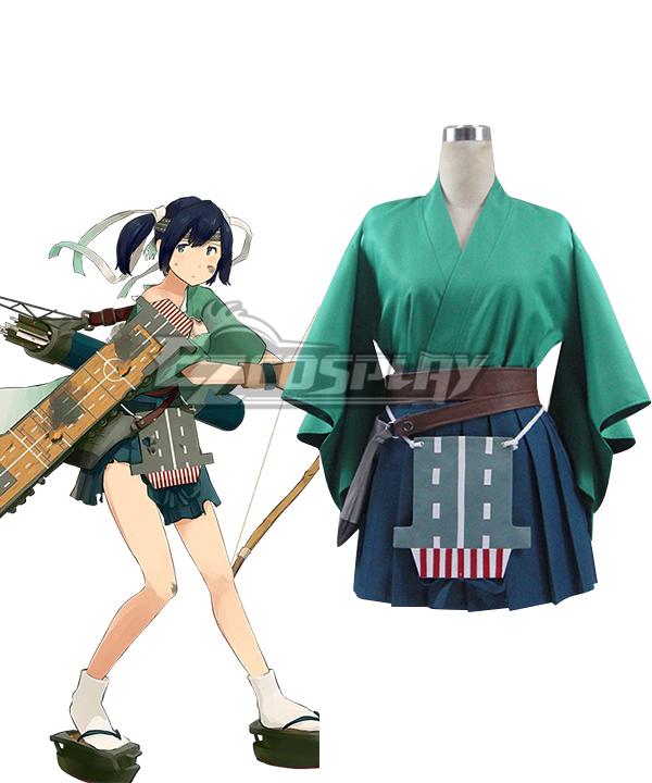 Kantai Collection Kancolle Souryuu Kai Ni Cosplay Costume