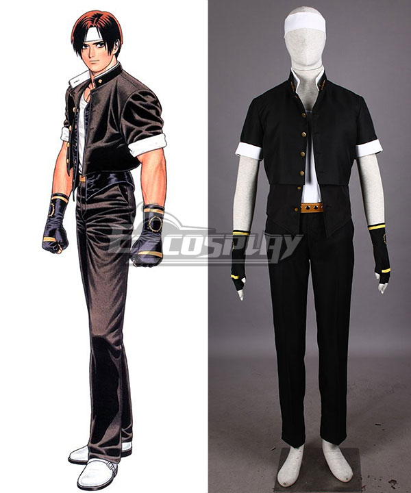 The King of Fighters KOF Kyo Kusanagi Cosplay Costume None