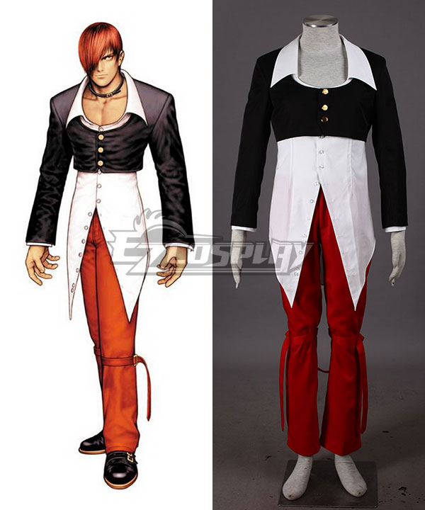 The King of Fighters KOF Iori Yagami Cosplay Costume None