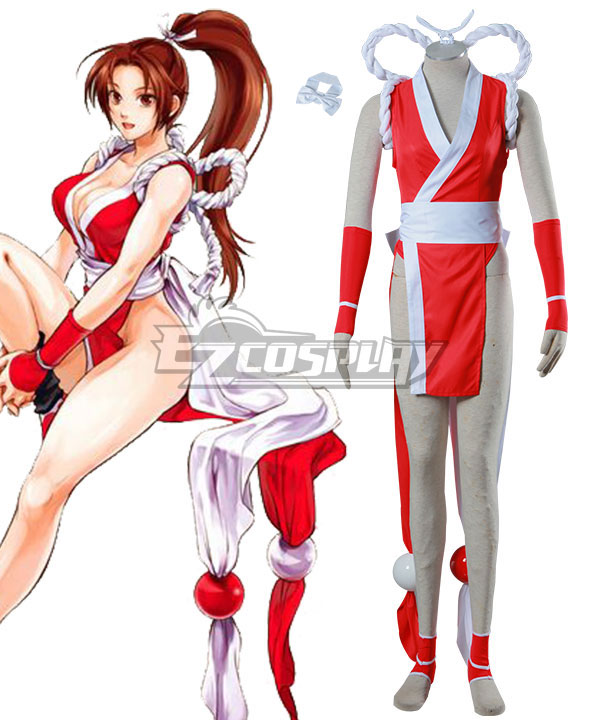 The King of Fighters Mai Shiranui Cosplay Costume None