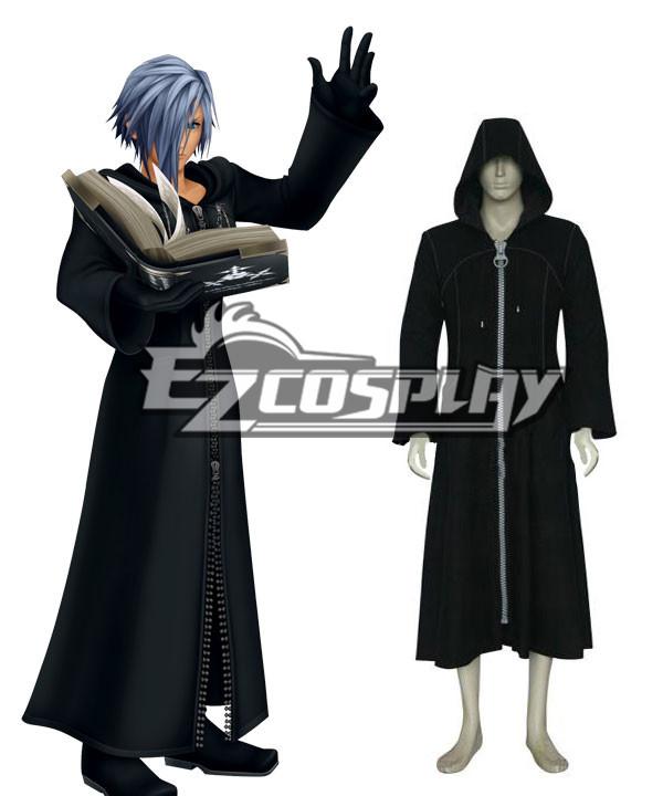 Kingdom Hearts 2 Organization XIII Black Cosplay Costume