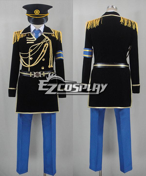 K Project Fushimi Saruhiko Military Uniform Cosplay Costume
