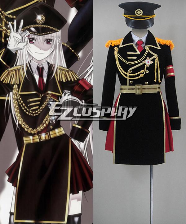 K Project Kushina Anna Military Uniform Cosplay Costume