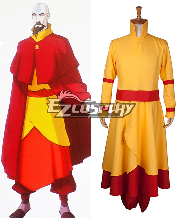 Legend of Korra Tenzin Cosplay Costume