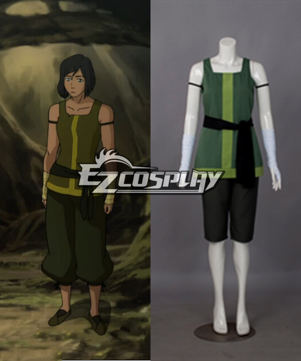 The Legend of Korra Season 4 Book Four: Balance Korra Cosplay Costume ELK0006