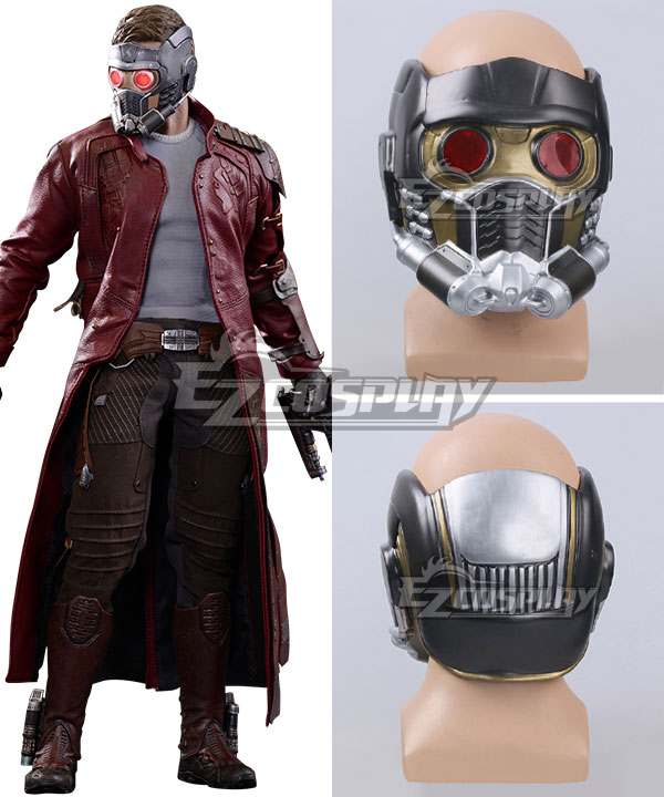 Marvel Guardians of the Galaxy Peter Quill / Star-Lord Cosplay Mask Cosplay Accessory Prop None