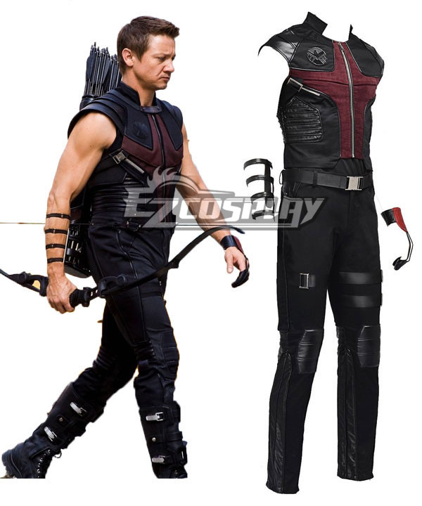 Marvel The Avengers Hawkeye Clinton Francis Barton Cosplay Costume None