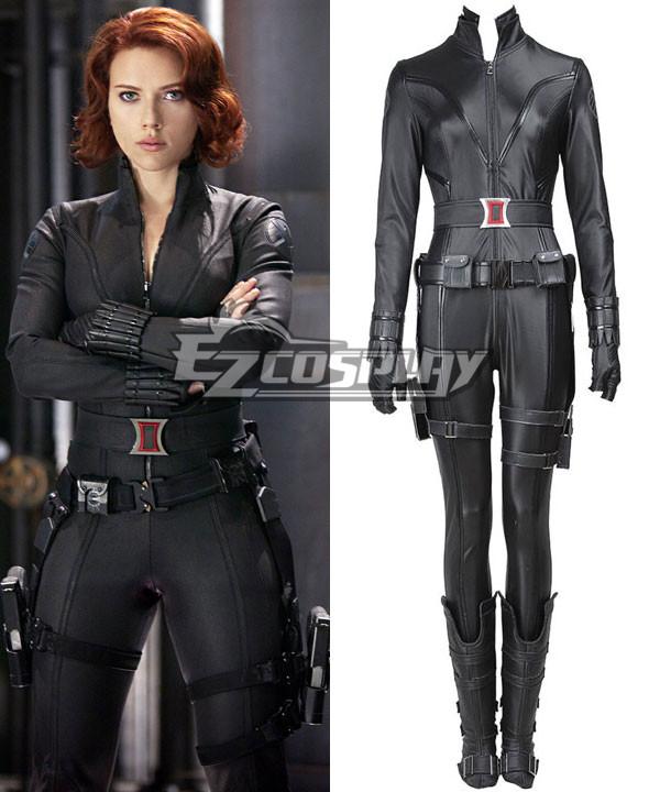 Marvel's The Avengers Natasha Romanoff Black Widow Cosplay Costume None