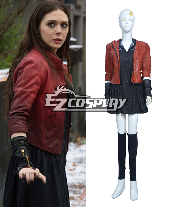 DC Comics Marvel Avengers: Age of Ultron Scarlet Witch Cosplay Costume None