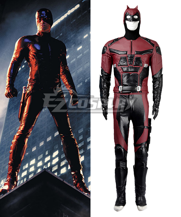 Marvel 2015 Hot TV Show Daredevil Cosplay Costume Outfits  None