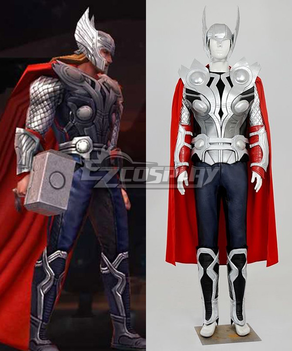 Marvel The Avengers Age of Ultron Thor Cosplay Costume None