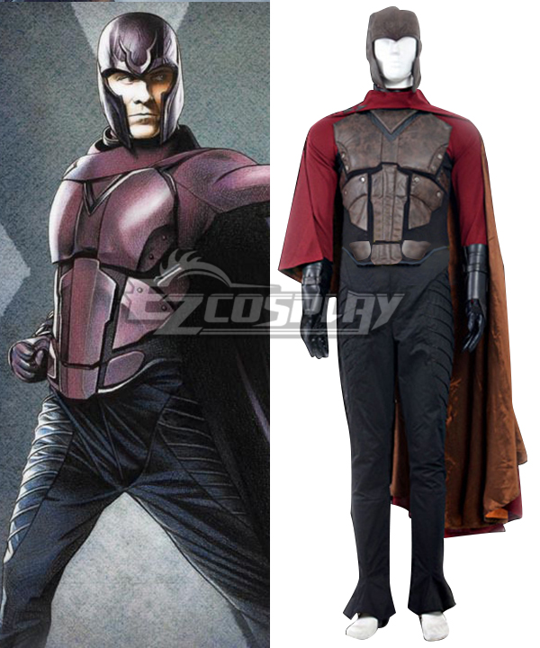Marvel X-Men: Days of Future Past Erik Lehnsherr Magneto Cosplay Costume  None