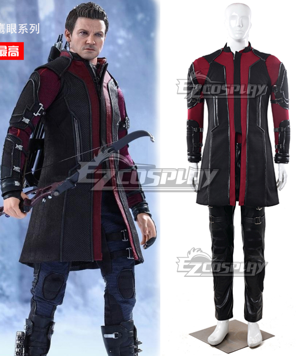 Image of 2015 Avengers: 2 the Awengers Alliance Avengers age of Ultron Hawkeye Cosplay Costume