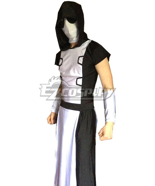 Marvel Deadpool Monk Zentai Cosplay Costume None