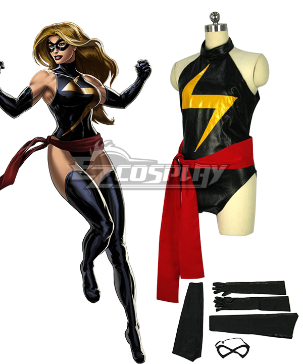 Marvel Ms. Marvel Carol Danvers Captain Marvel Cosplay Costume None