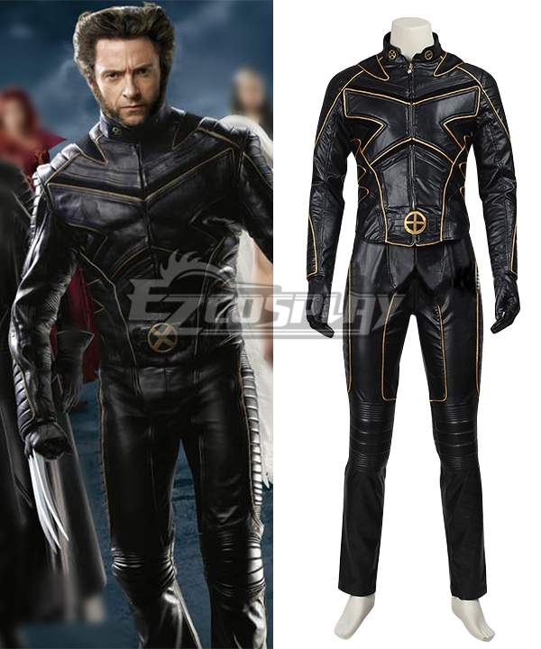 Marvel X-Men: The Last Stand Wolverine Cosplay Costume None
