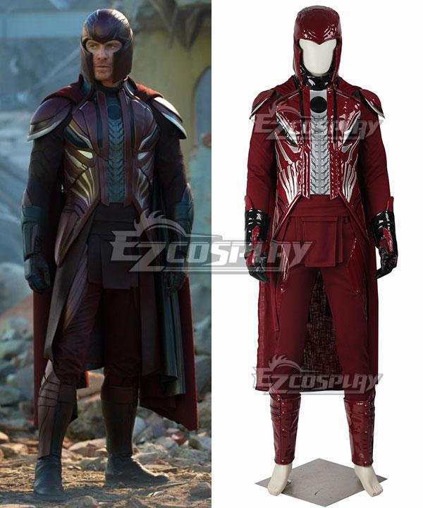 Marvel X-Men Apocalypse X Men Magneto Max Eisenhardt Erik Lensherr Cosplay Costume None