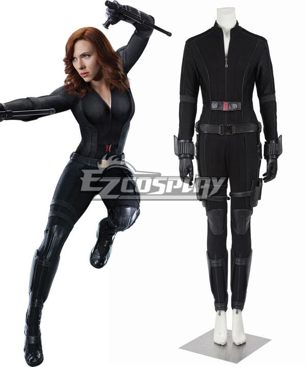 EMAV072 Marvel Captain America Civil War Black Widow Natasha Romanoff Cosplay Costume