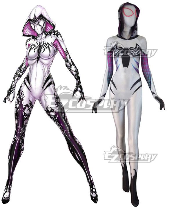 Marvel Spiderwoman Spider Gwen Zentai Gwen Stacy Cosplay Costume None