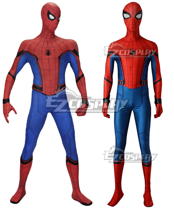 Marvel Spider-Man:Homecoming Spider-man Superhero Peter Parker Halloween Cosplay Costume None