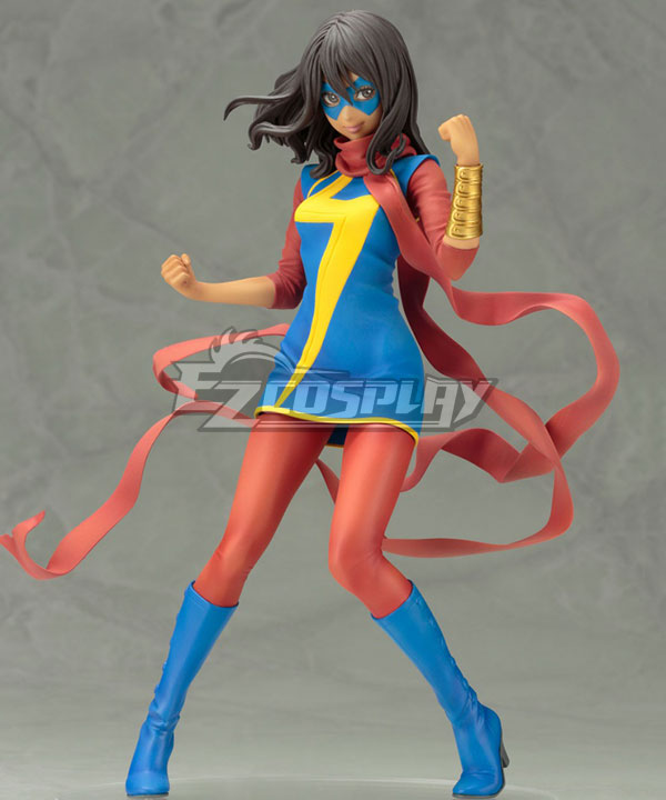 Marvel Ms. Marvel Kamala Khan Cosplay Costume None