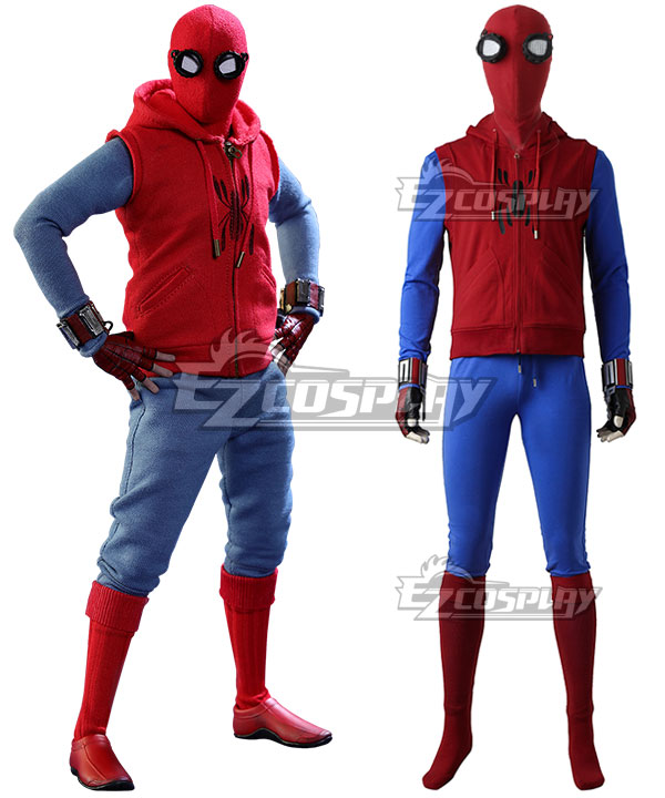 Marvel Spider-Man:Homecoming Spider-man Superhero Peter Parker Cosplay Costume None