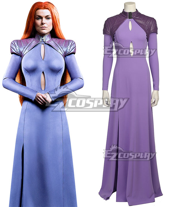 Marvel Inhumans Medusa Cosplay Costume None
