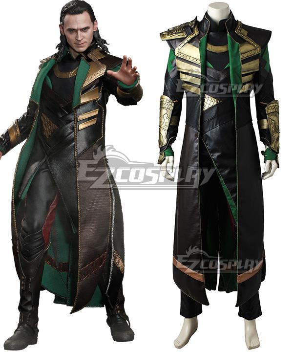 Marvel Thor 2: The Dark World Loki Cosplay Costume None