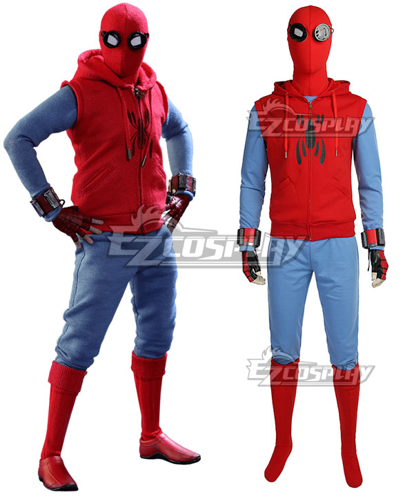 Marvel Spider-Man: Homecoming Spider-man Spider Man Superhero Peter Parker Cosplay Costume EMAV139