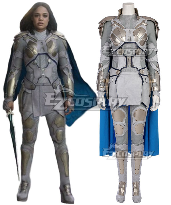 Marvel Thor 3 Ragnarok Trailer Valkyrie B Edition Cosplay Costume