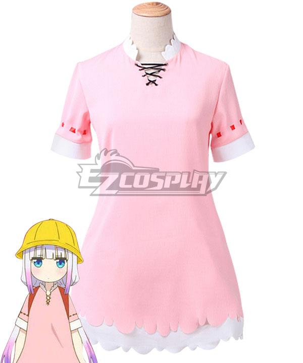 Miss Kobayashiu0026#39;s Dragon Maid Kanna Kamui School Uniform Cosplay Costume