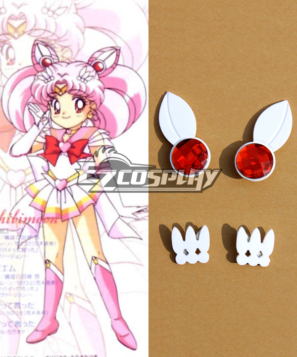 Image of Sailor Moon S Chibi Usa Sailor Chibimoon Small Lady Cosplay Accessories