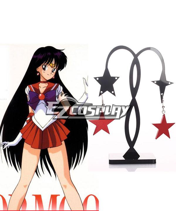 Sailor Moon Rei Hino (Sailor Mars) Cosplay Earings