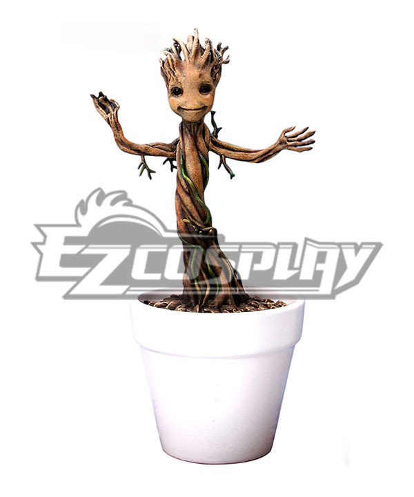Guardians of the Galaxy 7 inches Mini Dancing Groot Figure(Extreme Edition) None
