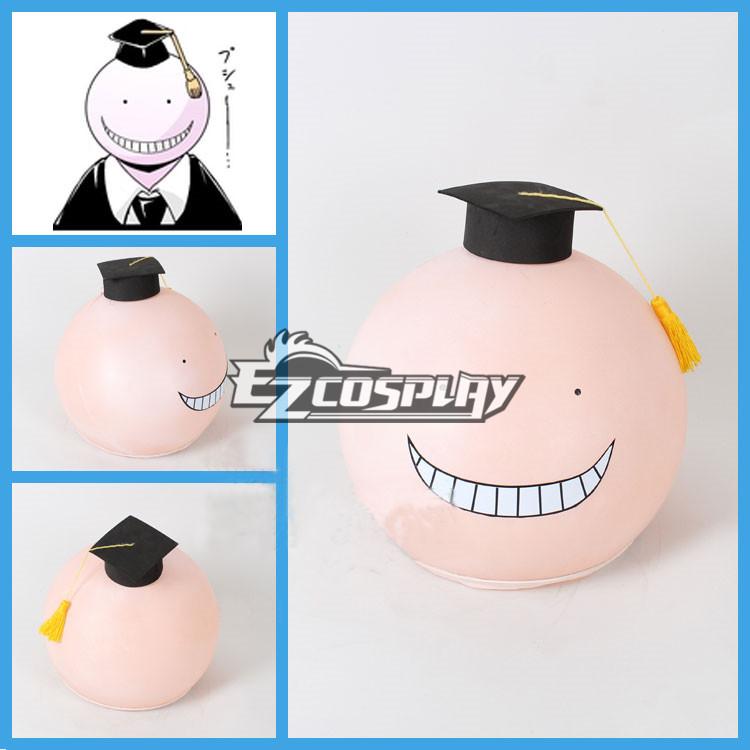 Assassination Classroom Korosensei Cosplay Pink Mask Helmet Hat