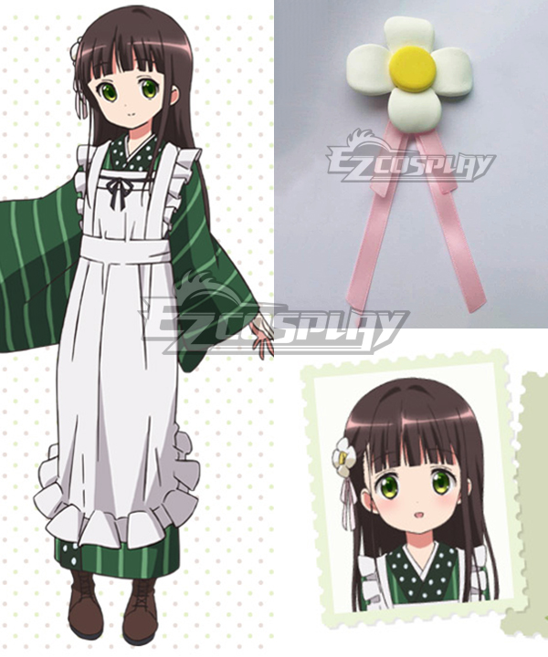 Gochuumon wa Usagi Desu ka? Is the Order a Rabbit? Chiya Ujimatsu Cosplay Hair Accessory