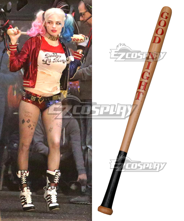 DC Comics New Batman Suicide Squad Harley Quinn Baseball Bat Cosplay Prop