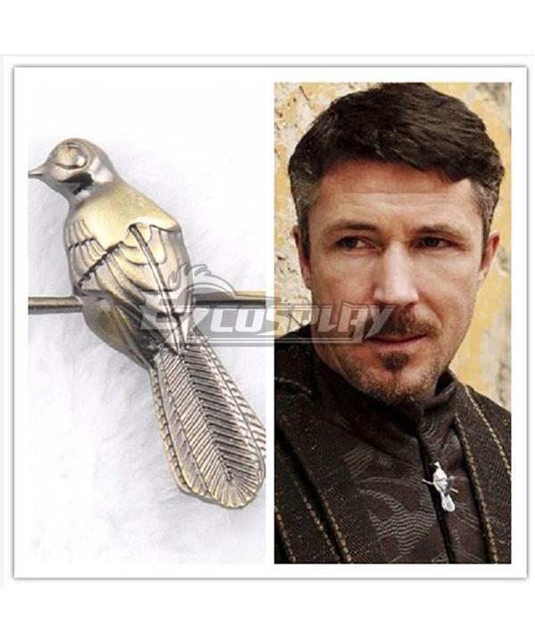 Game Of Thrones Petyr Baelish Little Finger Cosplay Badge