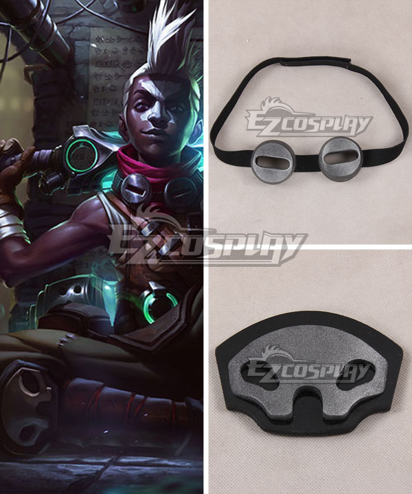 League of Legends LOL Ekko The Boy Who Shattered Time Blinkers Kneepad Cosplay Accessory Prop None