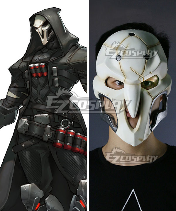 ENA0245 Overwatch OW Reaper Gabriel Reyes Mask Cosplay Accessory Prop